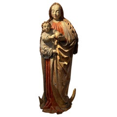 Virgin with Child, circa 1480, Lower Rhine Westphalian