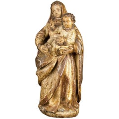 """""""Virgin with Child Jesus"""". Spain, End of the 17th-Early 18th Century"""