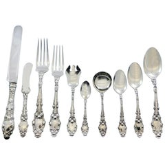 Virginiana by Gorham Sterling Silver Flatware Set 8 Service 94 pcs No Monogram