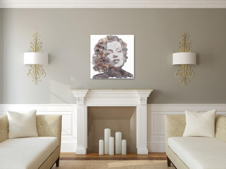 Tell Me Everything Marilyn  - Painting by Virginie Schroeder