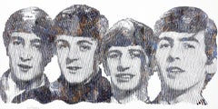 The Beatles Story, Do You Remember? - Large Original Figurative Pop Art Painting