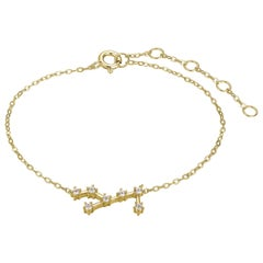 Virgo Constellation Anklet