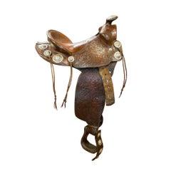 Visalia Show Saddle