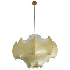 Viscontea Cocoon Pendant by Achille and Pier Giacomo Castiglioni for Flos, 1960s