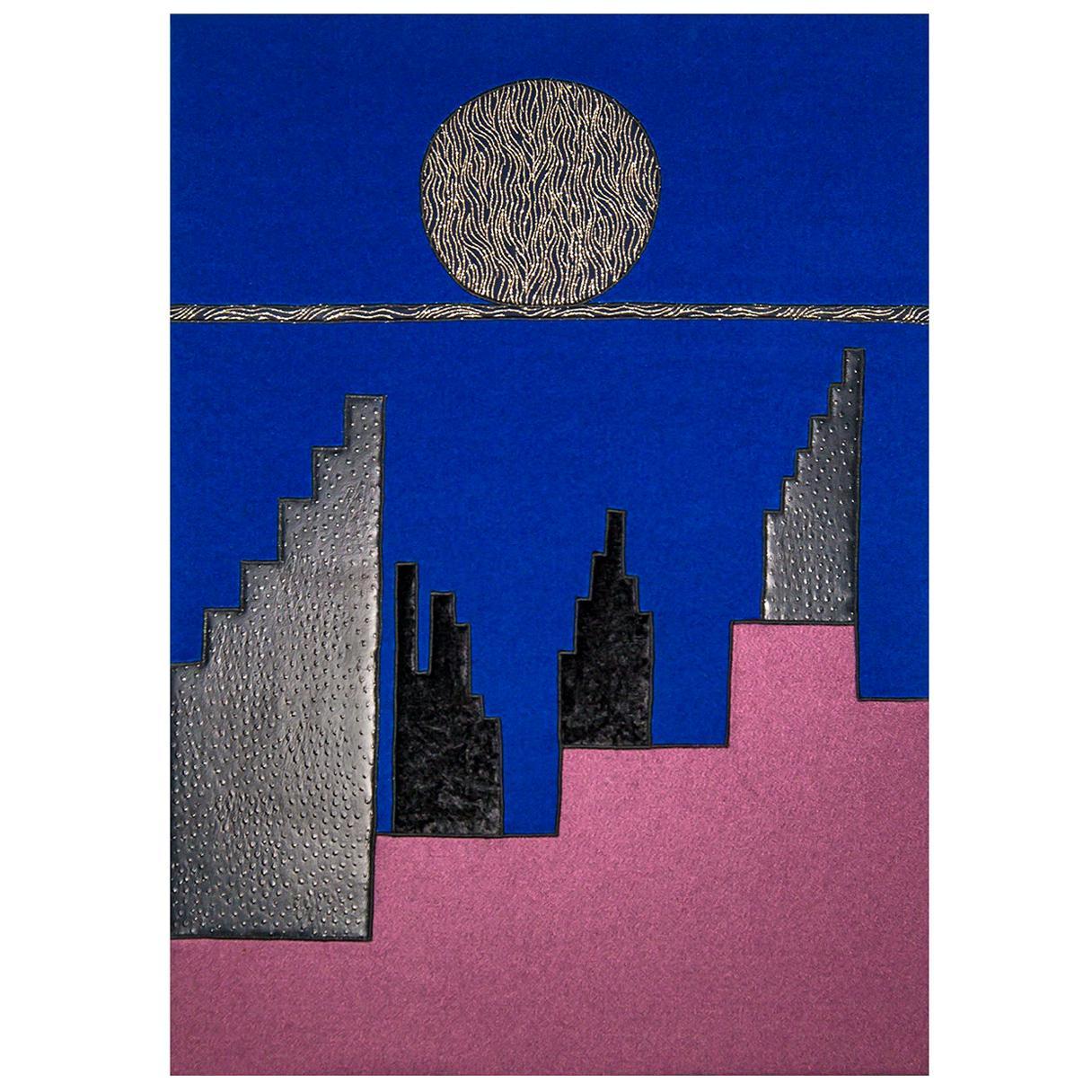 Visione Di Città Future Tapestry #14