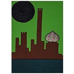 Visione Di Città Future Tapestry #17