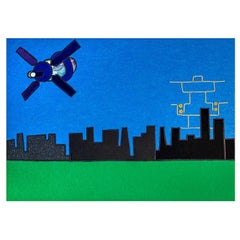 Visione Di Città Future Tapestry #3