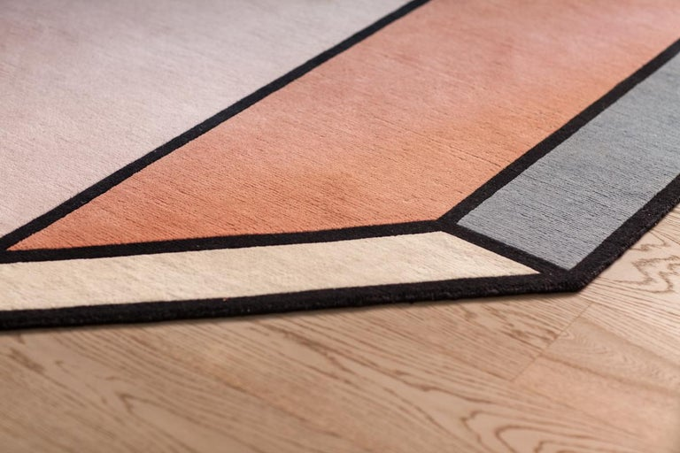 Visioni A Rug by Patricia Urquiola for CC-Tapis For Sale 1