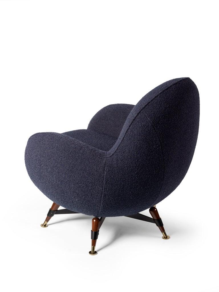 Modern Visionnaire Mercury Anniversary Armchair For Sale