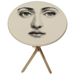'Viso Di Donno' Side Table by Piero Fornasetti, circa 1960s, Signed