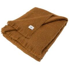Viso Mohair Blanket Queen Size V108 Camel