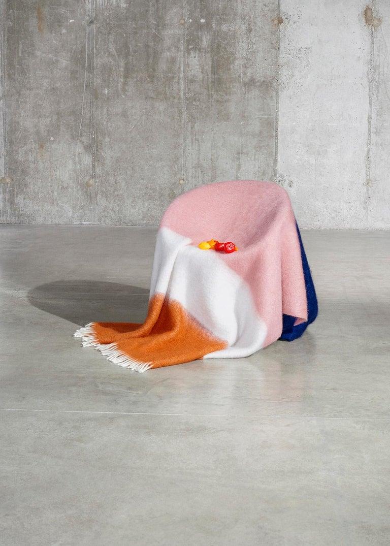 Contemporary Viso Mohair Blanket V01 For Sale