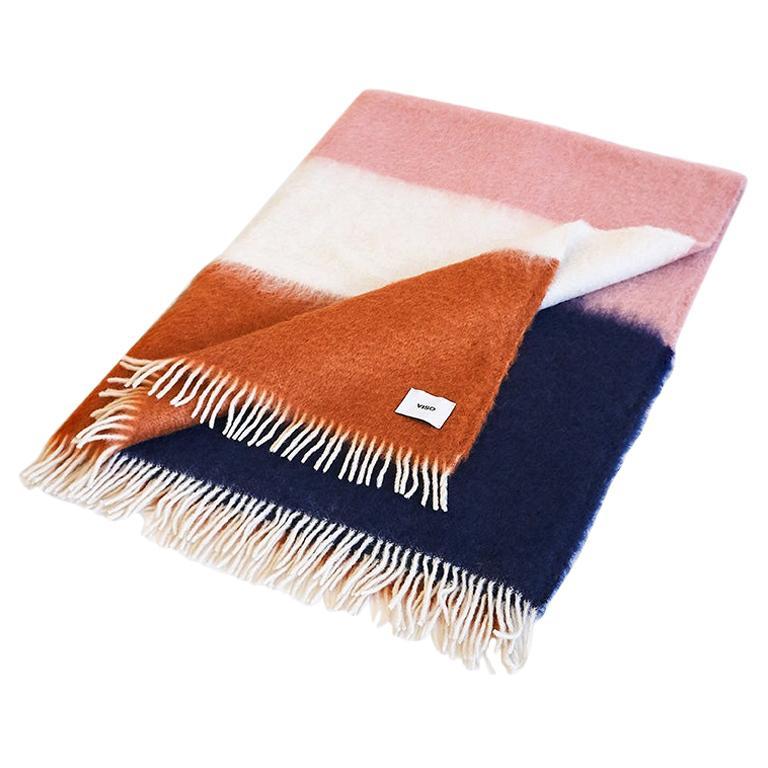 Viso Mohair Blanket V01 Orange