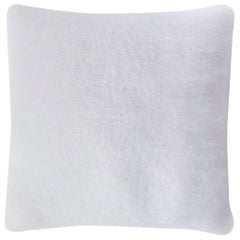 Viso Mohair Pillow V03 White