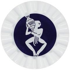 Viso Porcelain Zodiac Key Tray Aquarius