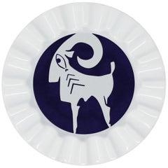 Viso Porcelain Zodiac Key Tray Aries