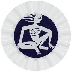 Viso Porcelain Zodiac Key Tray Cancer