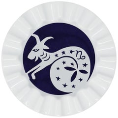 Viso Porcelain Zodiac Key Tray Capricorn