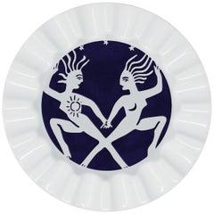 Viso Porcelain Zodiac Key Tray Gemini