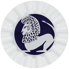Viso Porcelain Zodiac Key Tray Leo