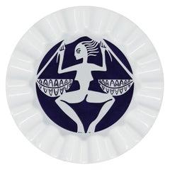 Viso Porcelain Zodiac Key Tray Libra