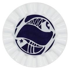 Viso Porcelain Zodiac Key Tray Pisces