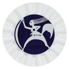 Viso Porcelain Zodiac Key Tray Sagittarius
