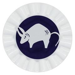 Viso Porcelain Zodiac Key Tray Taurus
