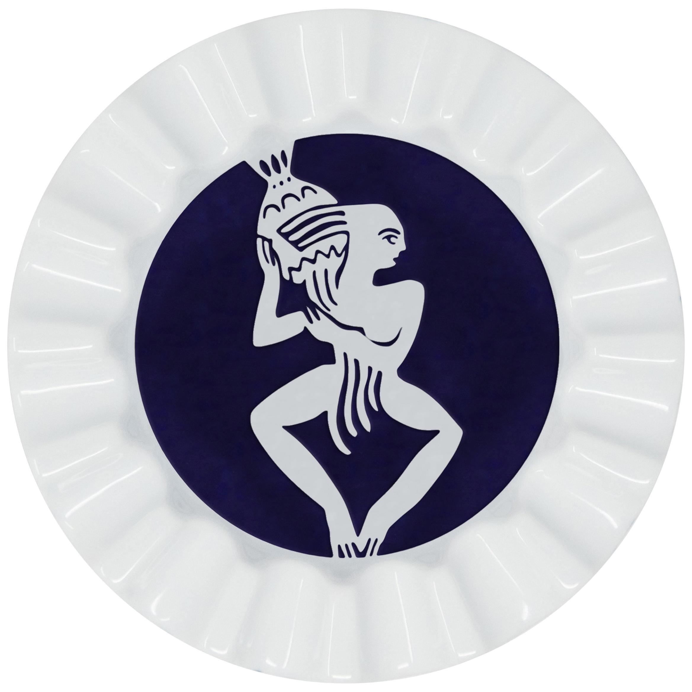Viso Porcelain Zodiac Ashtray Virgo