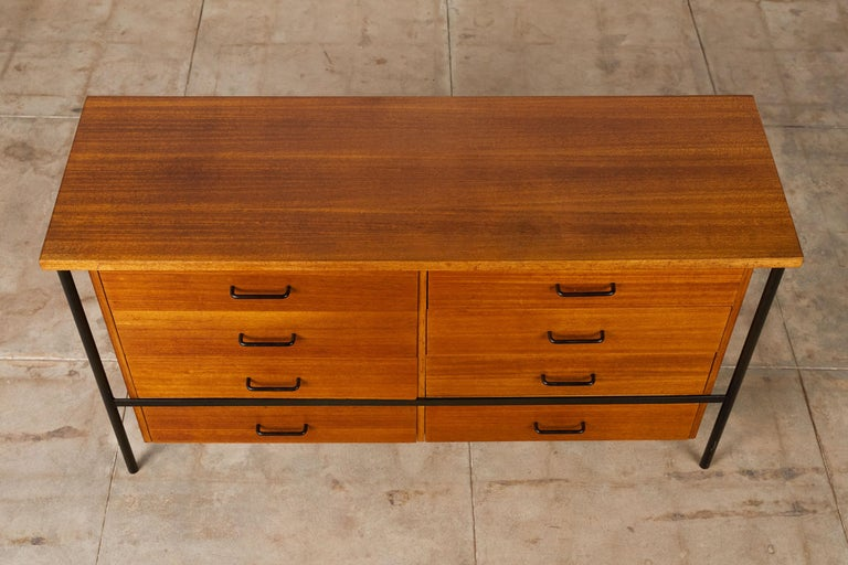 Steel Vista of California Double Dresser by Don Knorr For Sale