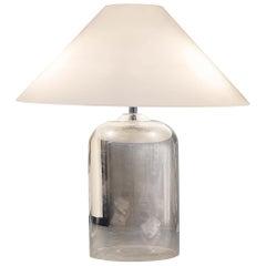 Vistosi Alega Table Lamp in Glass and Chrome by Vico Magistretti