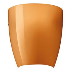 Vistosi Dafne Wall Sconce in Glossy Orange by Studio Tecnico