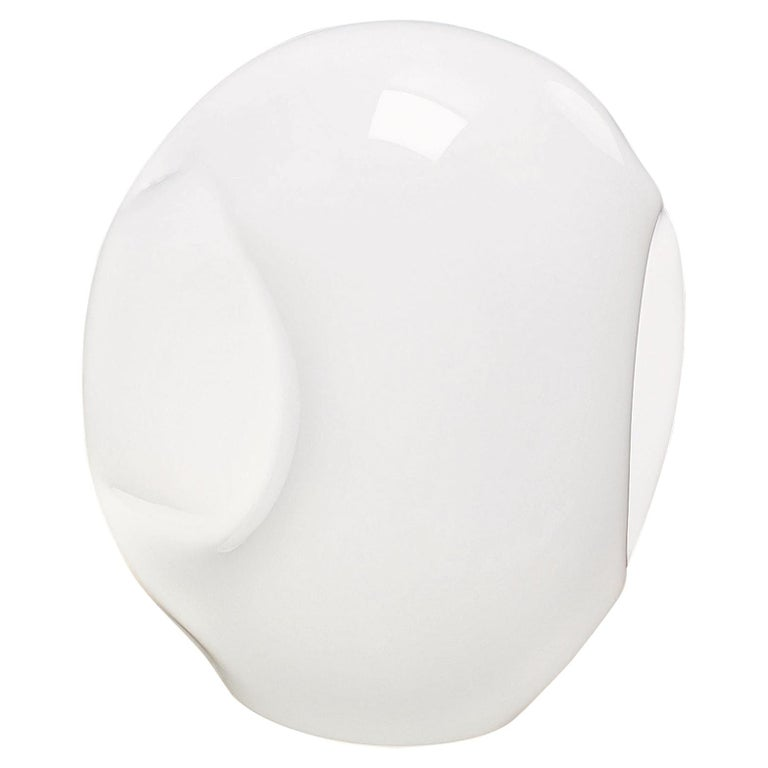 Vistosi Large LED Munega Table Lamp in White by Luciano Vistosi For Sale