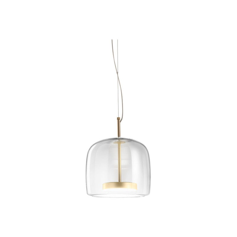 For Sale: Clear (Crystal) Vistosi Led Jube Sp 1 P Suspension Light by Favaretto&Partners