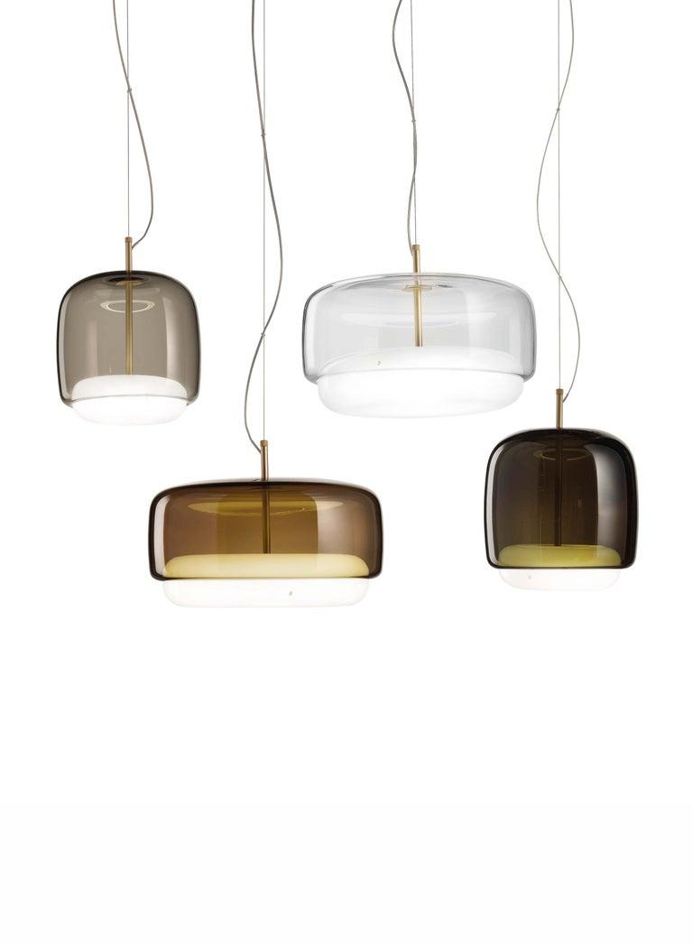 Italian Vistosi LED Jube SP G Suspension Light by Favaretto&Partners For Sale