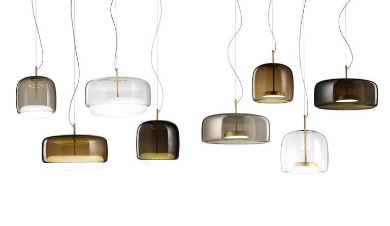 Contemporary Vistosi LED Jube SP G Suspension Light by Favaretto&Partners For Sale