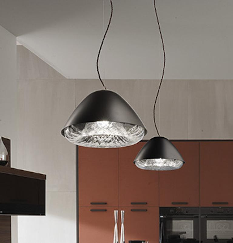 Modern Vistosi LED Kira SP P Suspension Light by Alberto Saggia e Valerio Sommella For Sale