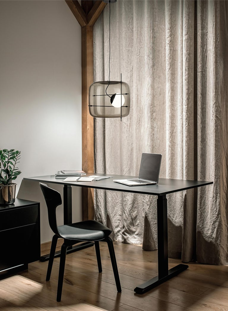 Vistosi LED Plot SP Suspension Light by Chiaramonte & Marin For Sale 1