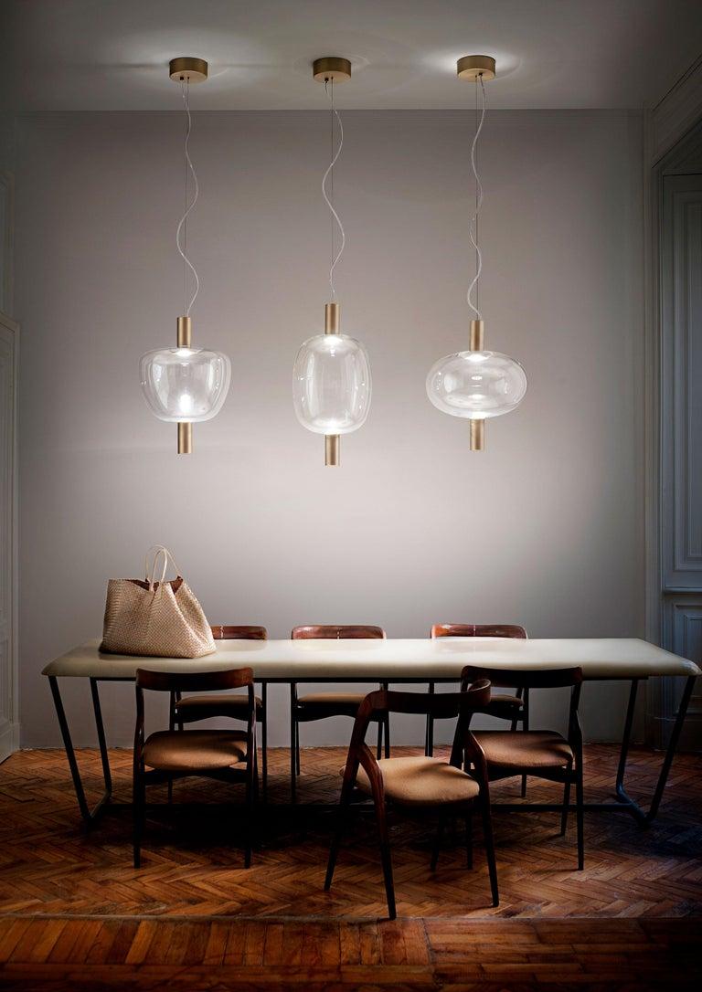Vistosi LED Riflesso SP 1 Suspension Light by Chiaramonte  In New Condition For Sale In Mogliano Veneto, Treviso