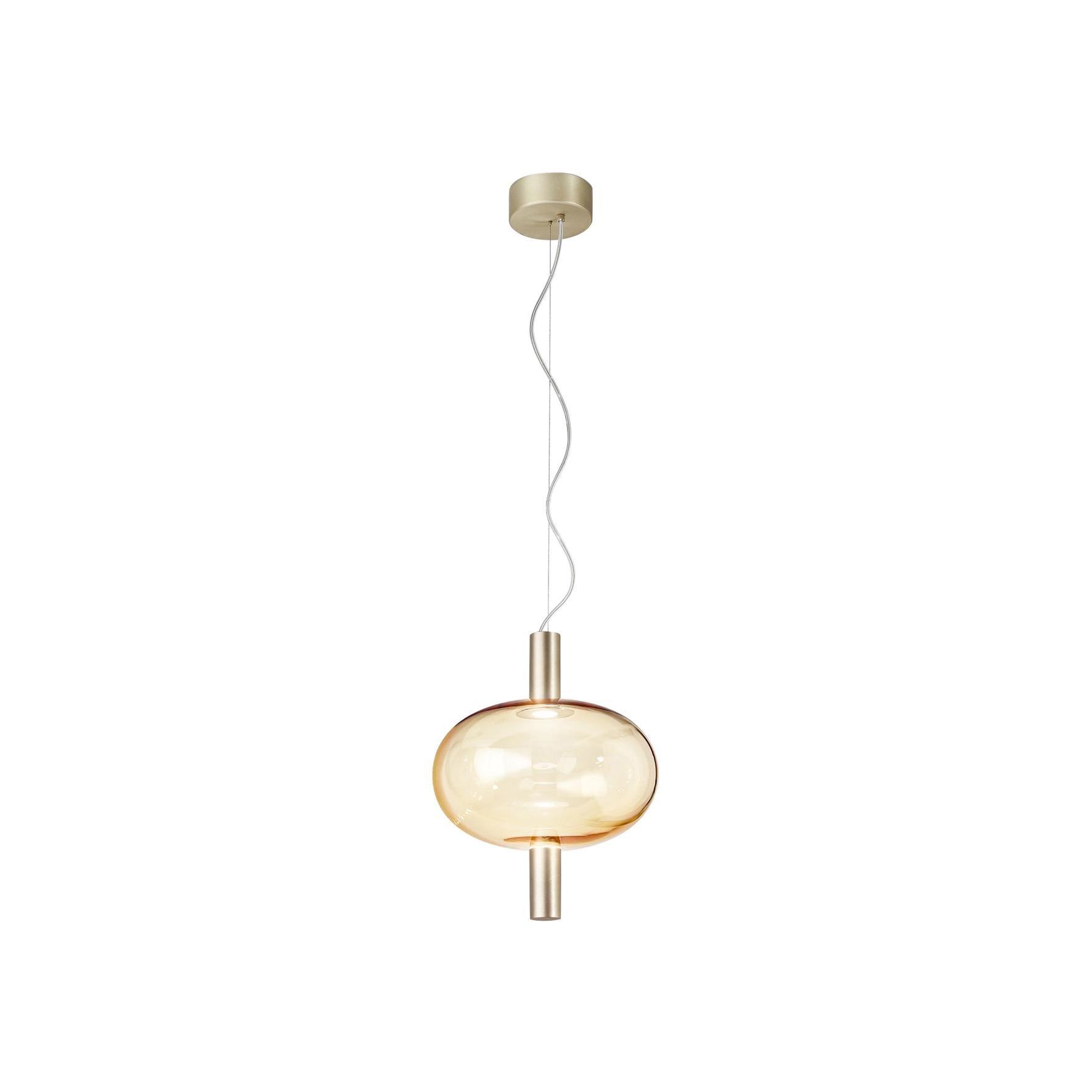 Vistosi LED Riflesso SP 1 Suspension Light by Chiaramonte