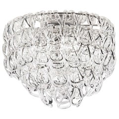 Vistosi MiniGiogali PL 35 Ceiling Light in Glass by Angelo Mangiarotti