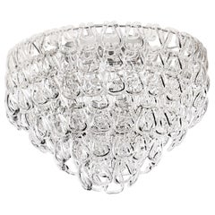 Vistosi MiniGiogali PL 50 Ceiling Light in Glass by Angelo Mangiarotti