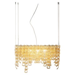 Vistosi MiniGiogali SP CLO Suspension Light in Glass by Angelo Mangiarotti
