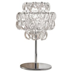 Vistosi MiniGiogali Table Lamp in Glass by Angelo Mangiarotti