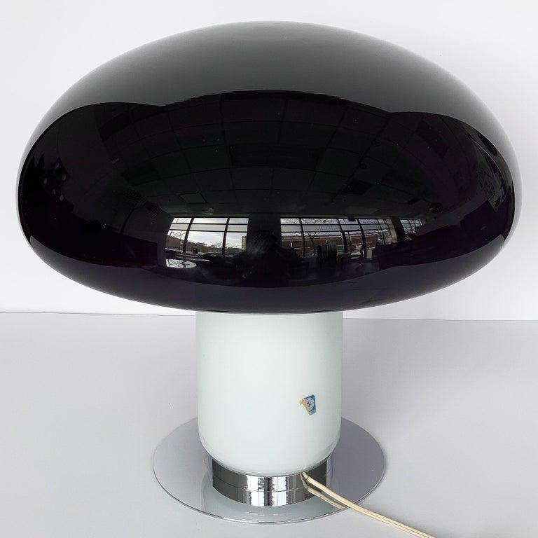 Vistosi Purple / Amethyst Mushroom Table Lamp For Sale 4