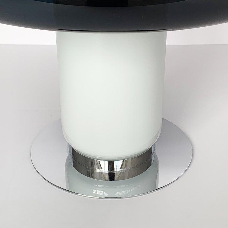 Vistosi Purple / Amethyst Mushroom Table Lamp For Sale 2
