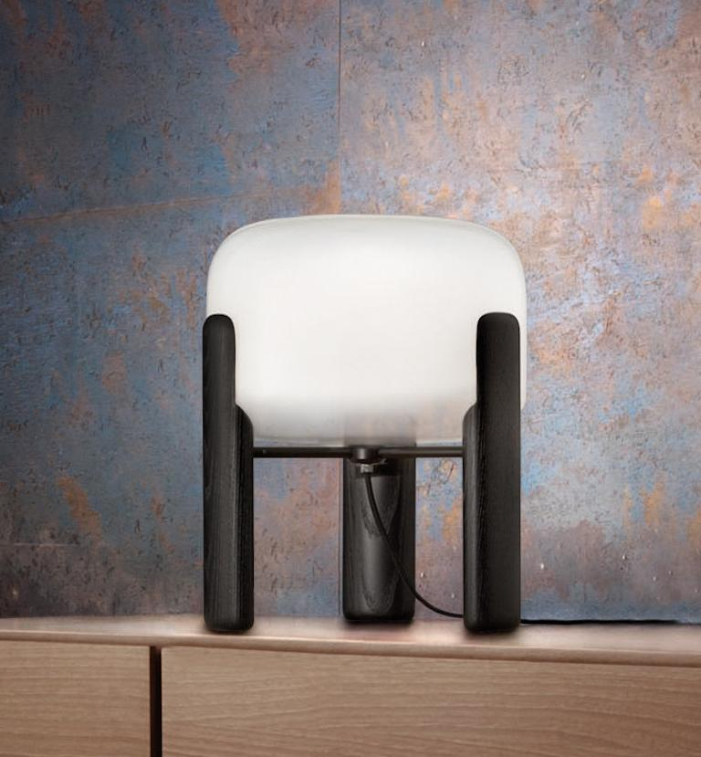 Modern Vistosi Sata LT Table Lamp in White by Favaretto and Partners For Sale