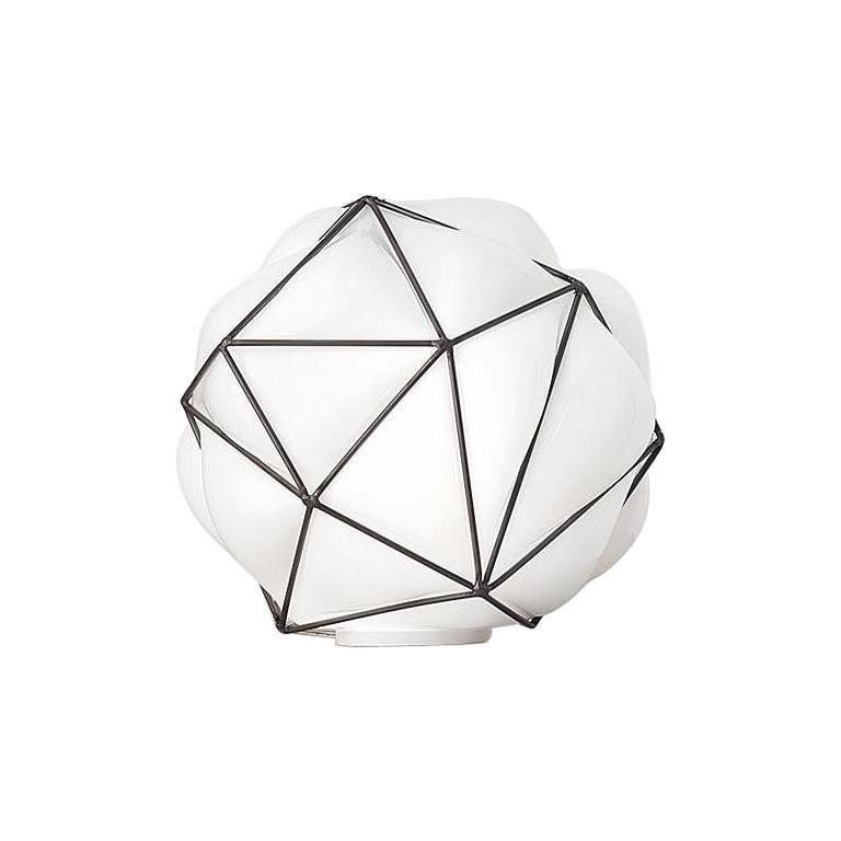 Vistosi Semai LTP Table Lamp in White by Alberto Saggia E Valerio Sommella For Sale