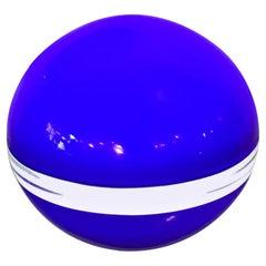 Vistosi Table Lamp Murano Glass, 1960, Italy