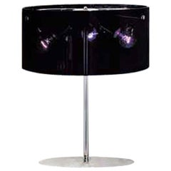 Vistosi Thor Table Lamp in Transparent Black by Chiaramonte & Marin